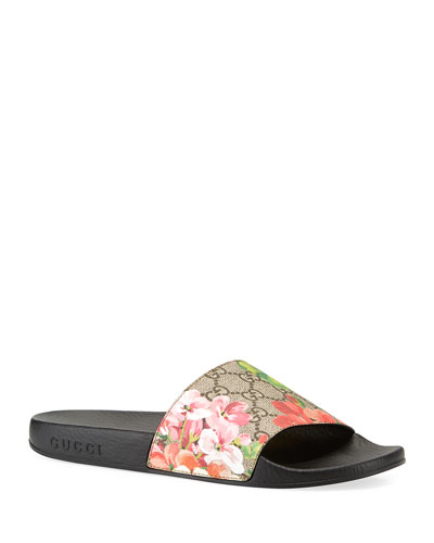 1a17ca279 Quick Look. Gucci · GG Blooms Supreme Slide Sandal