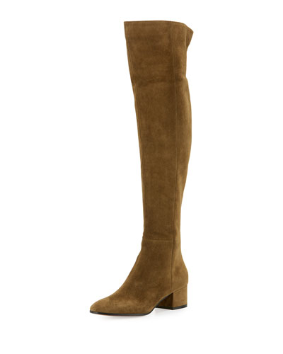 Rolling Mid 45mm Over-the-Knee Boot, Military