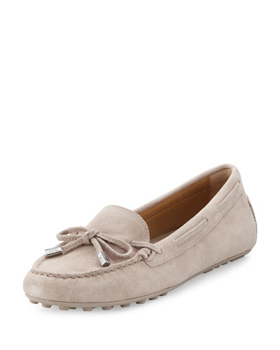 Daisy Suede Moccasin, Cement