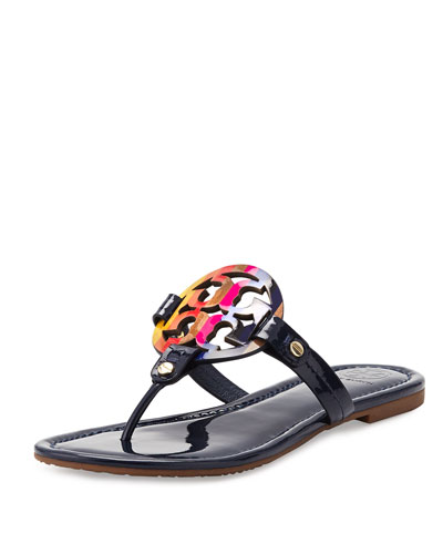 Miller Rainbow Logo Sandal, Royal Navy