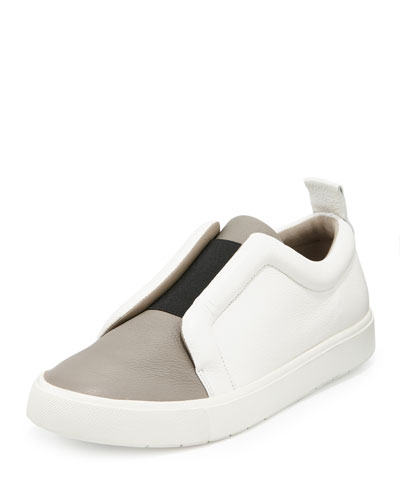 Caden Colorblock Slip-On Sneaker, Woodsmoke