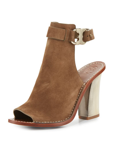 Gemini Link Open-Toe 100mm Bootie, River Rock