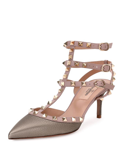 Rockstud Caged 65mm Pump