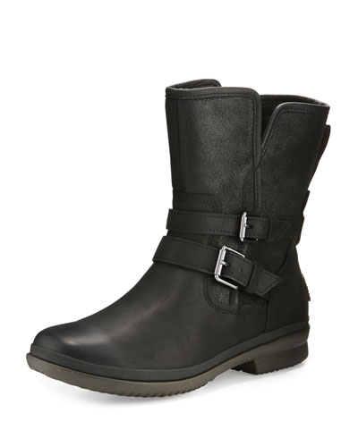 Simmens Waterproof Bootie, Black