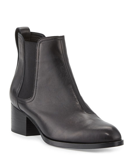 Rag & Bone Walker Leather Chelsea Boots, Black