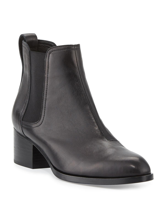 Walker Leather Chelsea Boots, Black