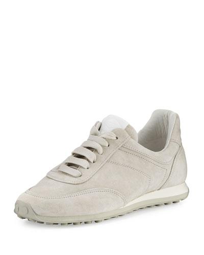 Dylan Suede Sneaker, Gray