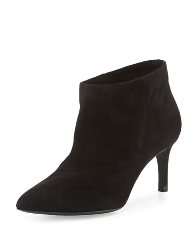 Harley Pointed-Toe Bootie, Black
