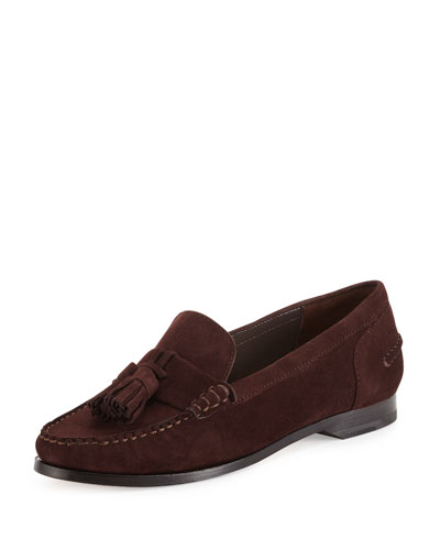 Pinch Grand Tassel Loafer, Chestnut