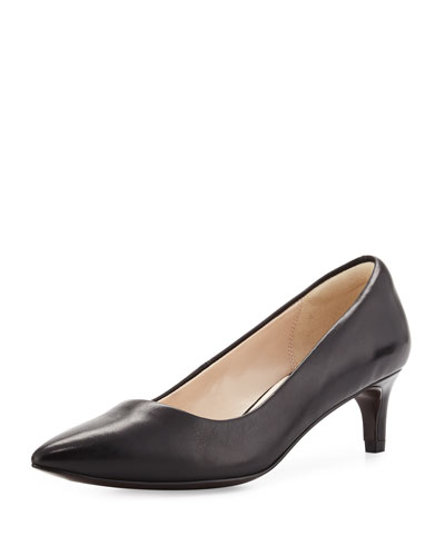 Amelia Grand 45mm Pump, Black