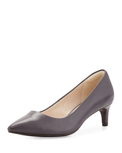 Amelia Grand 45mm Pump, Iron Stone