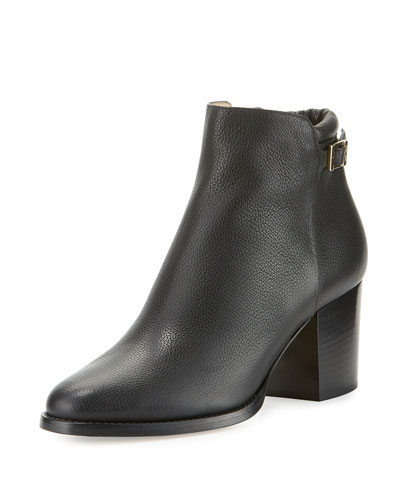 Method Leather 65mm Bootie, Black