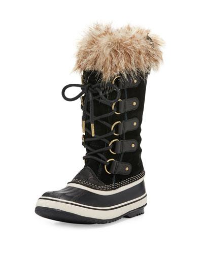 Joan of Arctic™ Fur-Trim Boot, Black
