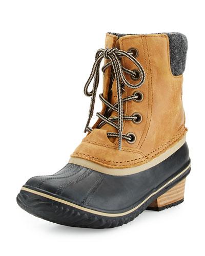 """Slimpackâ""""¢ II Lace-Up Short Boot, Elk/Black"""