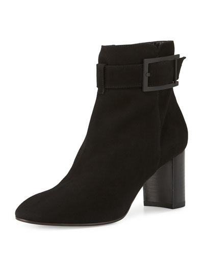Vanie Weatherproof Ankle Boot, Black