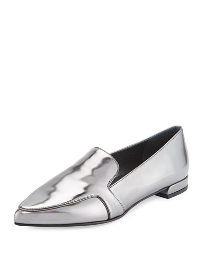 Pipelopez Pointed-Toe Loafer, Iron