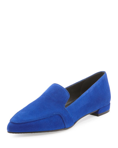 Pipelopez Pointed-Toe Loafer, Electric