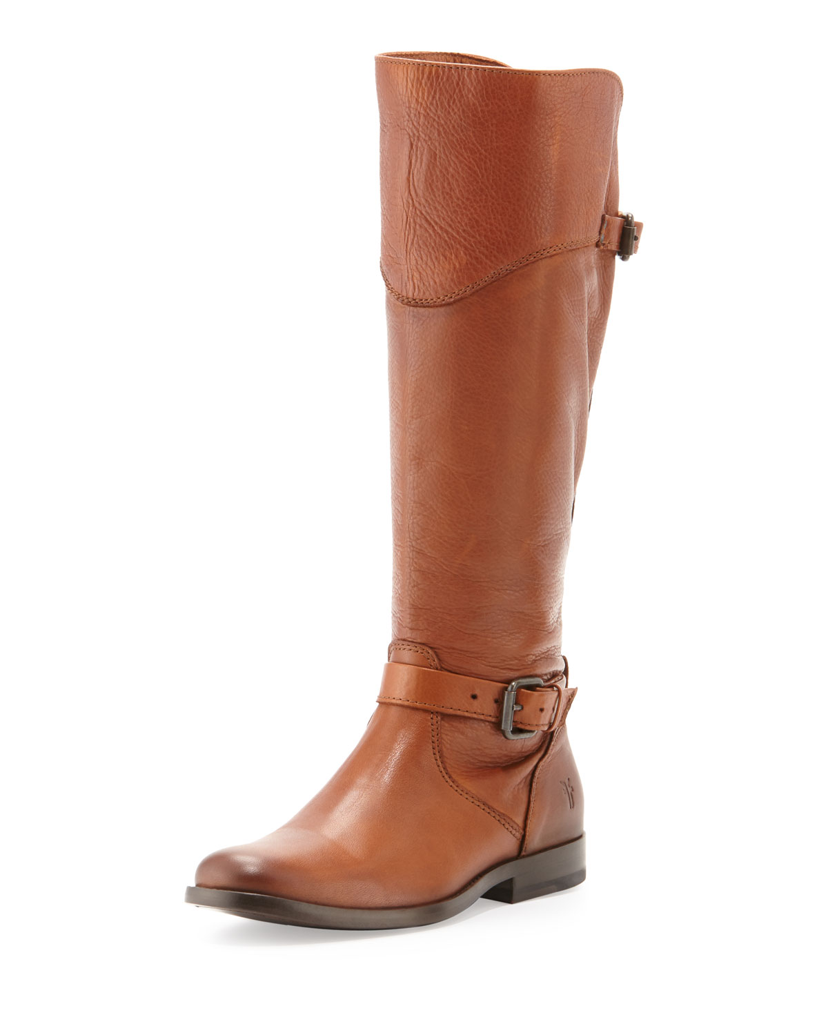 Phillip Leather Riding Boot, Whiskey