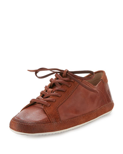 Dean Artisan Low-Top Sneaker, Whiskey