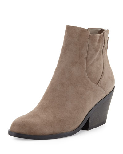 Peer Suede Ankle Boot, Shadow