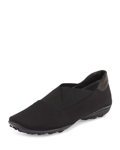 Urika Weatherproof Stretch Loafer, Black