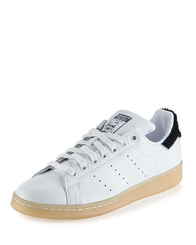 Stan Smith Winter Sneaker, White/Navy
