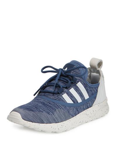 ZX Flux ADV Virtue Sneaker, Tech Ink/Core White
