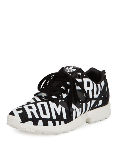 ZX Flux Rita Ora Sneaker, Core Black/Off White