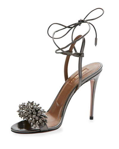 Monaco Beaded 105mm Sandal