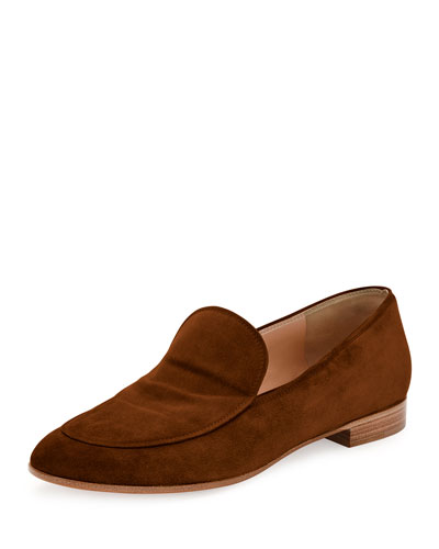 Marcel Suede Moccasin Flat, Texas