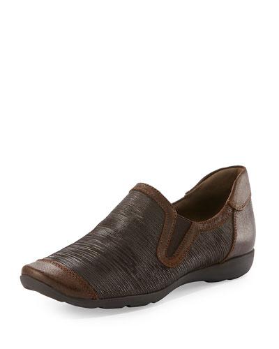 Garda Comfort Slip-On Sneaker, Bronze