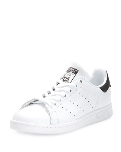 Stan Smith Fashion Sneaker, White/Core Black
