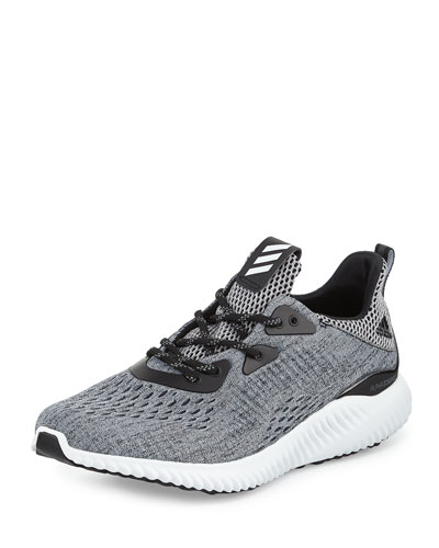 Alphabounce Engineered Mesh Sneaker, Core Black/Running White