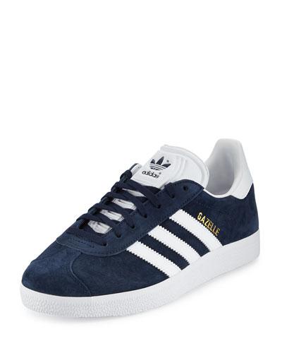 Gazelle Original Suede Sneaker, Navy/White