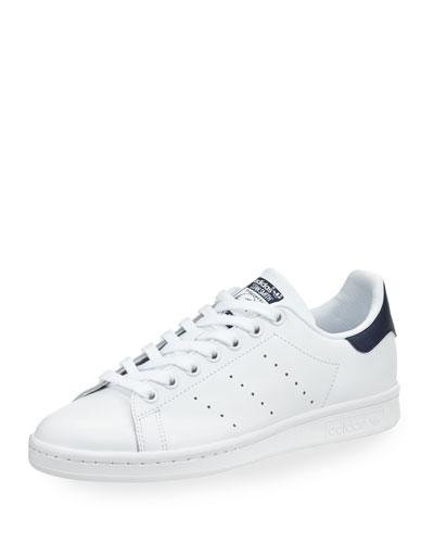 Stan Smith Fashion Sneaker, White/Collegiate Navy