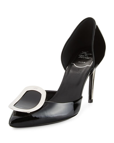 Sexy Choc d'Orsay 85mm Pump, Black