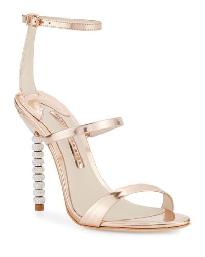 56a3efad3d3e Rose Gold Ankle Strap Shoes