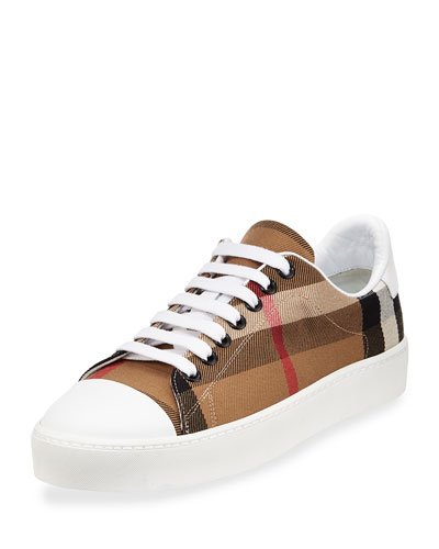Westford Check Low-Top Sneaker, Classic Check
