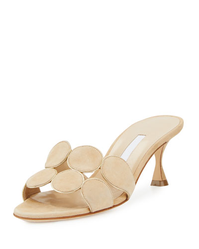 Hairibal Circle-Cut 65mm Mule Sandal