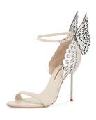Evangeline Angel Wing Sandal, Nude