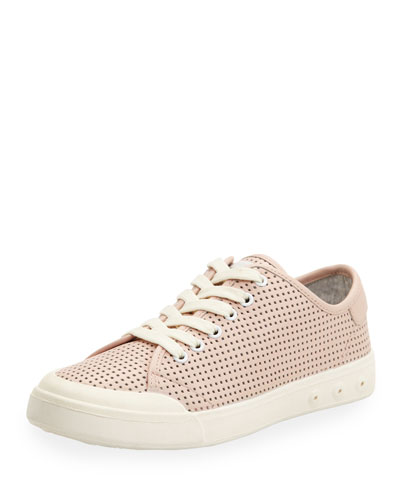 Standard Issue Perforated Low-Top Sneaker, Pink