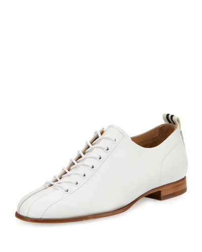 Alley Leather Oxford, White