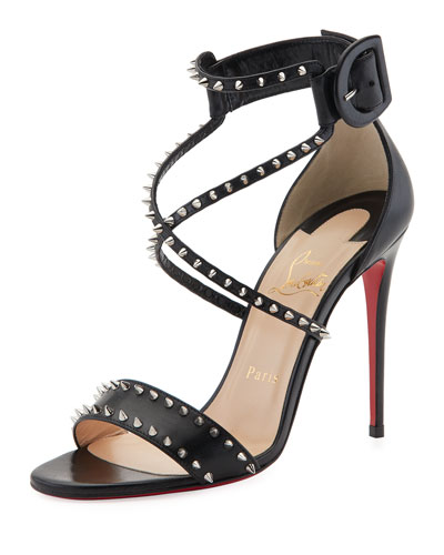 Choca Spikes Red Sole Sandal