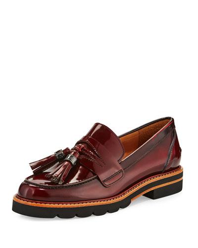 Manila Leather Tassel Loafer