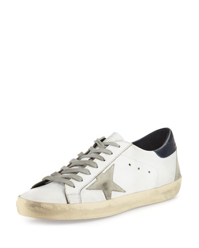 Superstar Leather Low-Top Sneaker, White