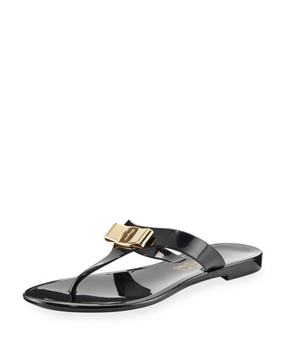 Farelia 1 Jelly City Flat Thong Sandal