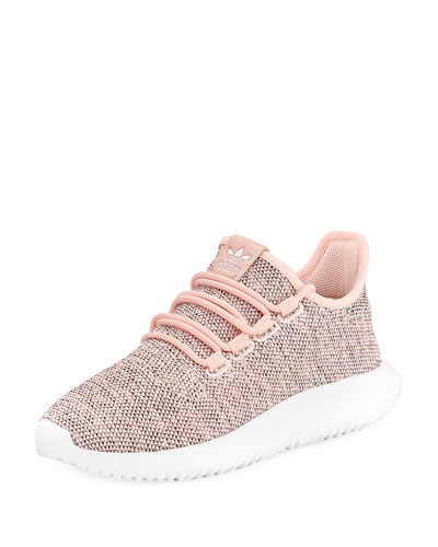 Tubular Shadow Knit Sneaker, Pink