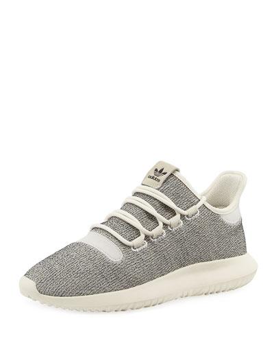Tubular Shadow Knit Sneaker, White