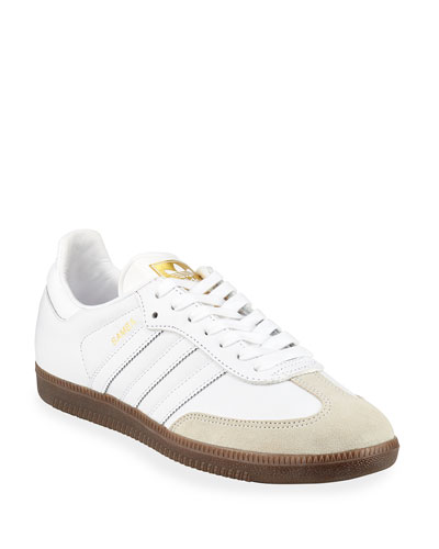 Samba Classic Leather Sneaker, White