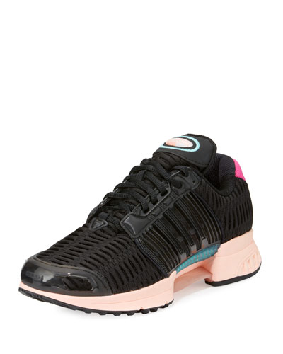 Climacool Knit Running Sneaker, Black